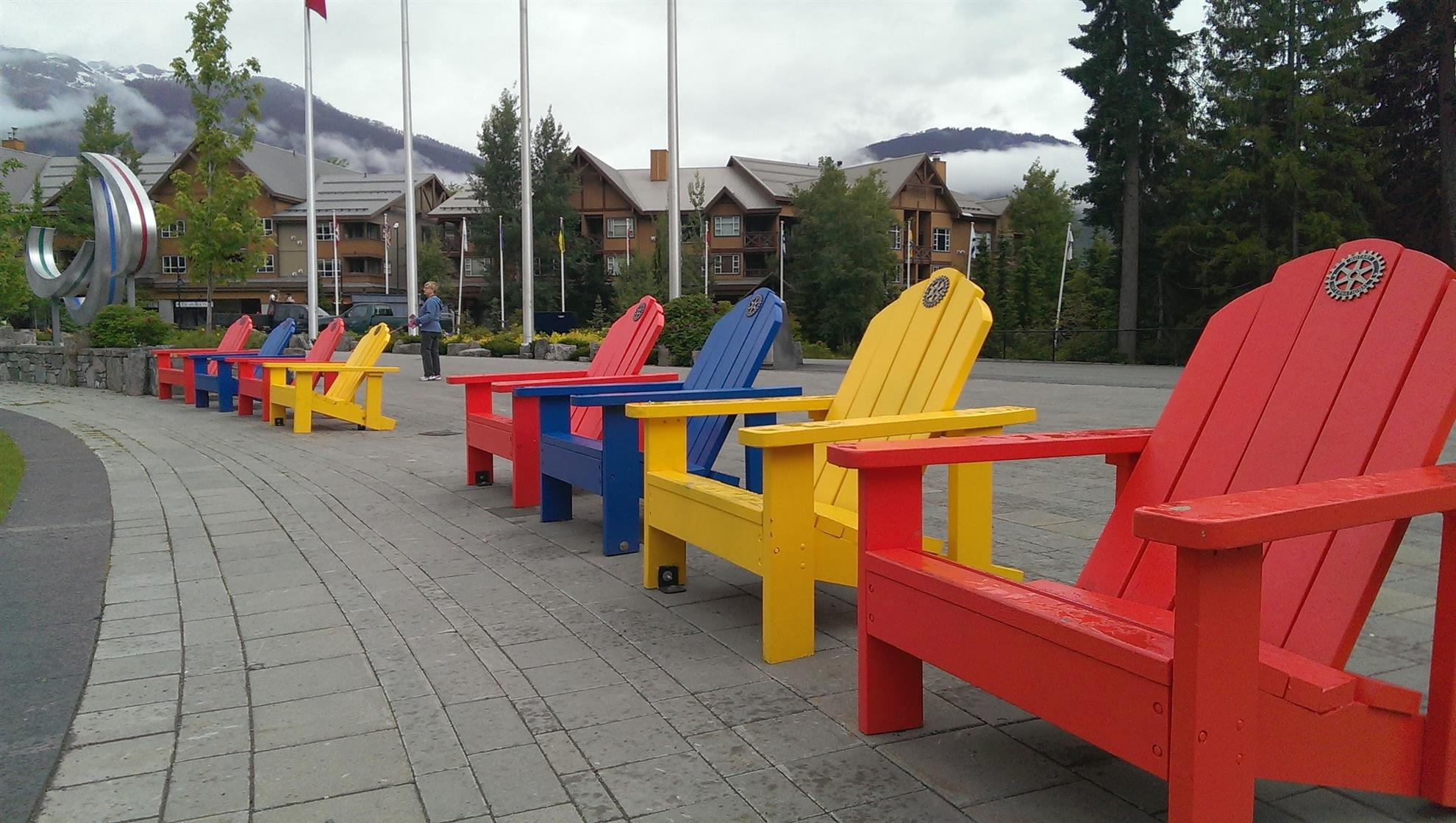 Olympic Plaza Chairs