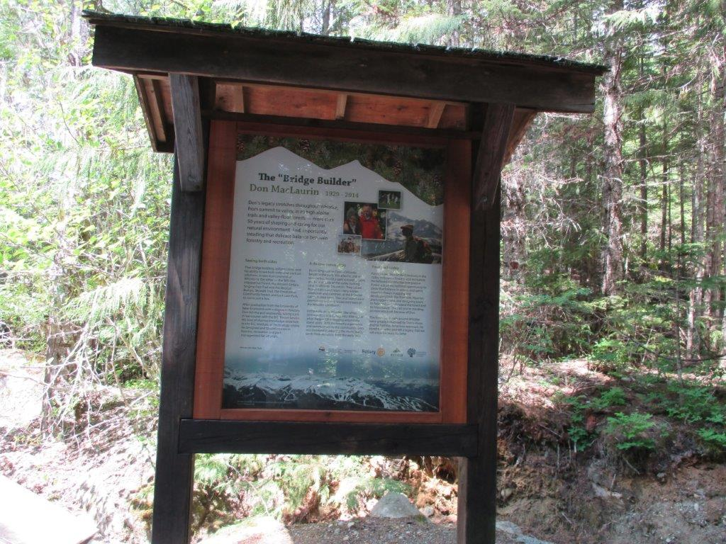 Interpretive Forest Signs