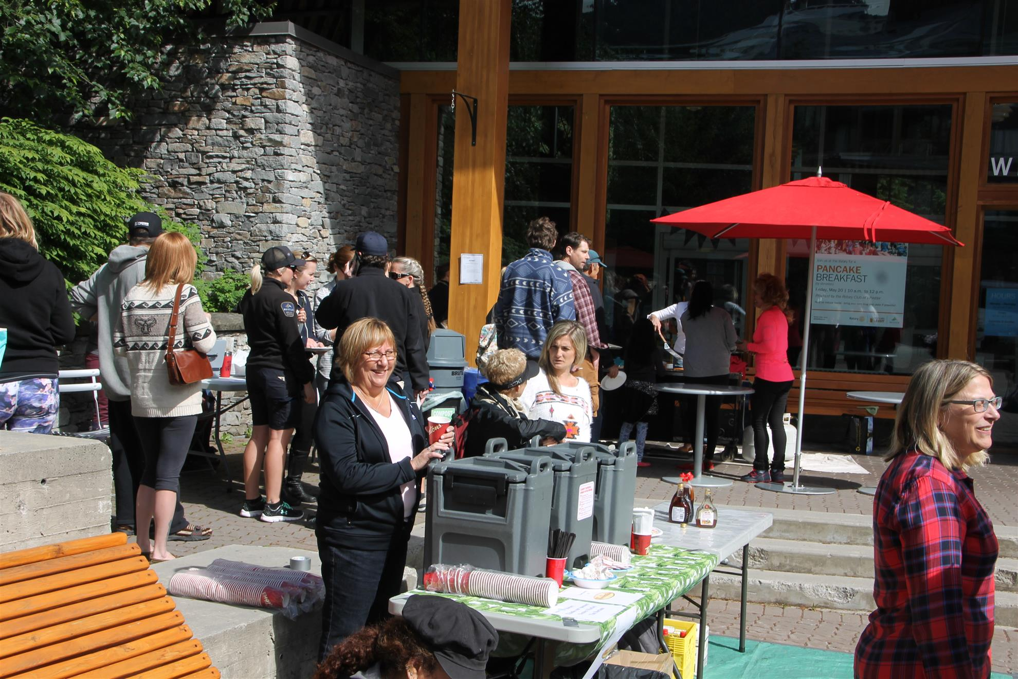 Whistler Public Library Pancake Breakfast
