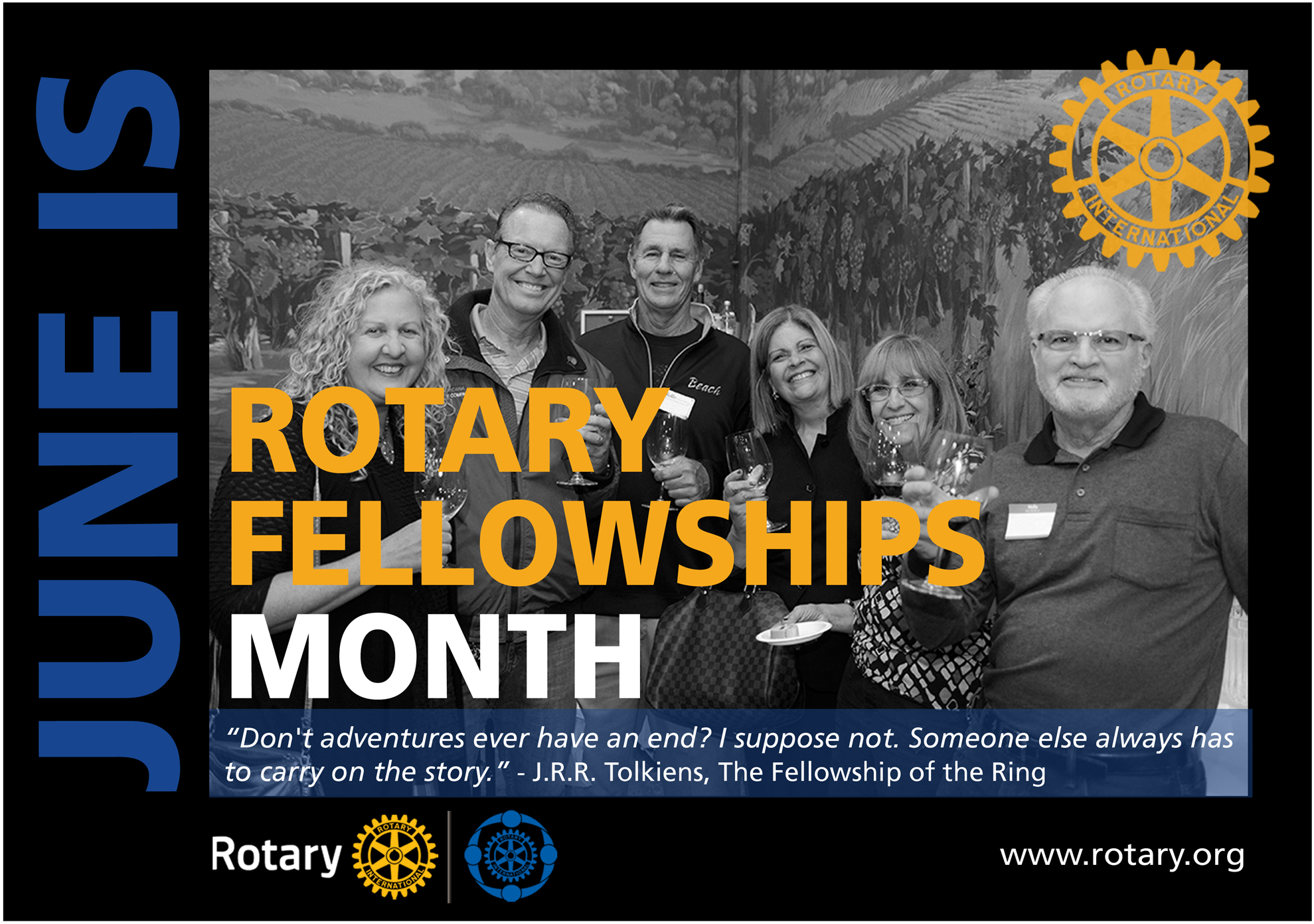 June is Rotary Fellowship Month   Rotary Club of Coquitlam