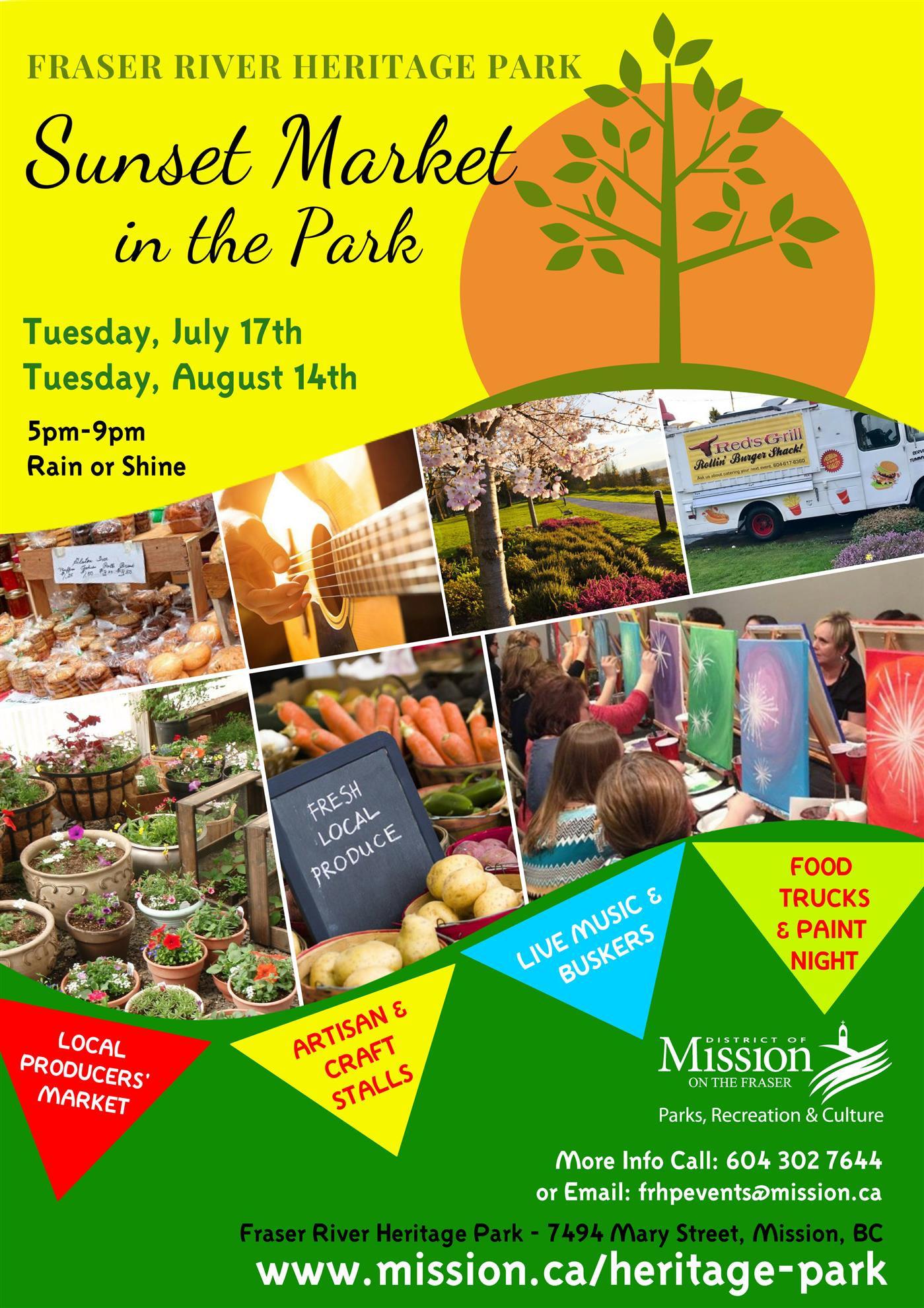 Rotary at Sunset Market in the Park | Rotary Club of Mission