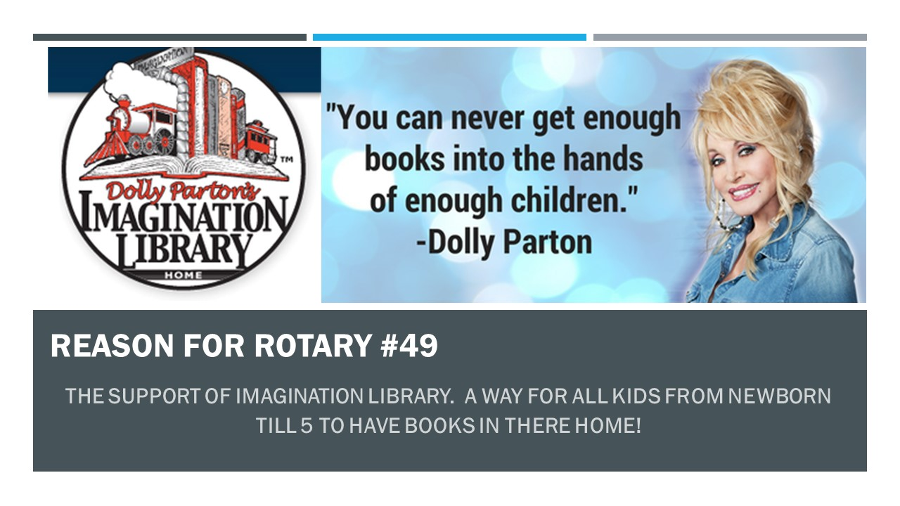 Reason for Rotary #49