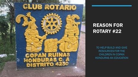 Rotary Reason 22