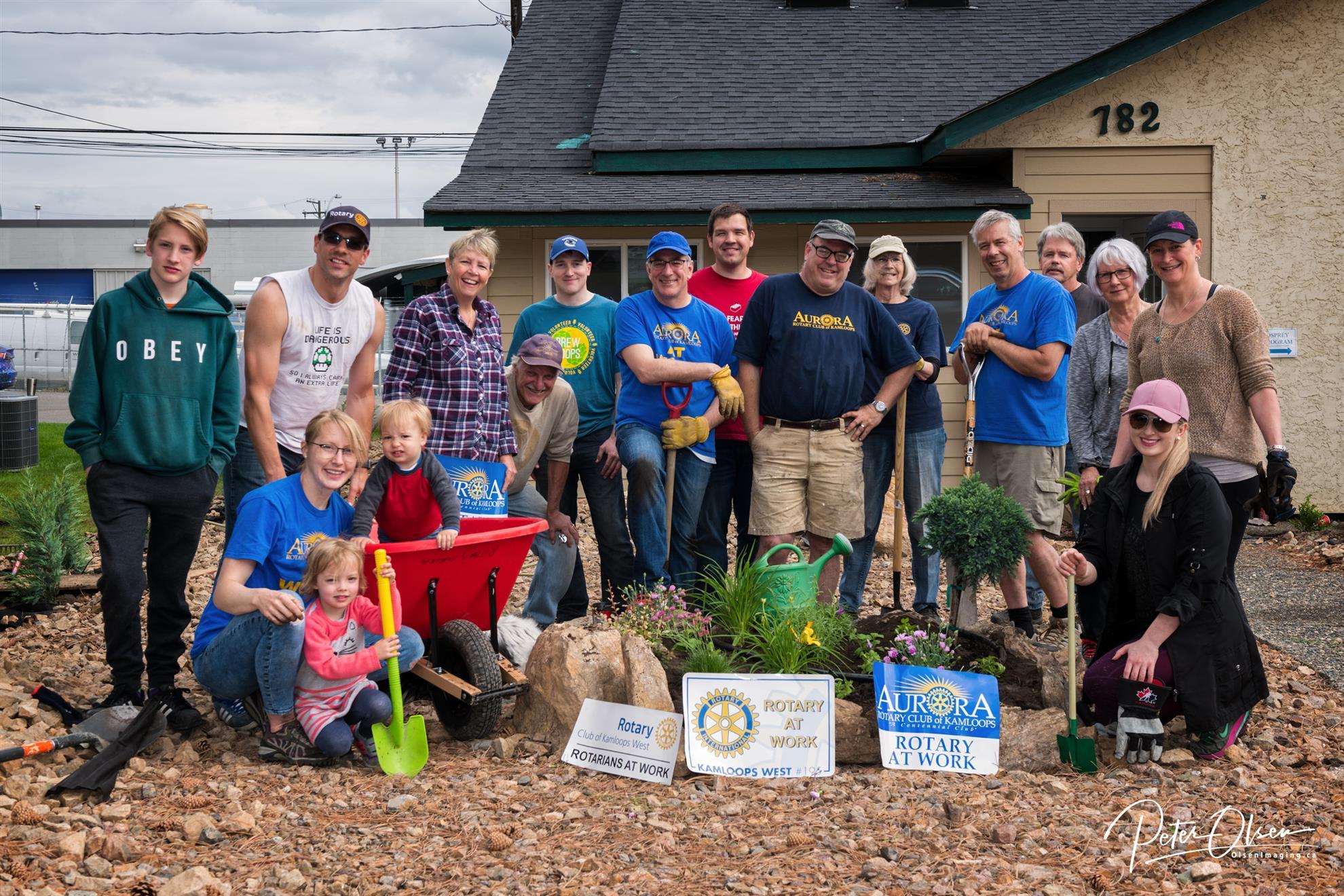 Osprey House revitalization project - May 2019
