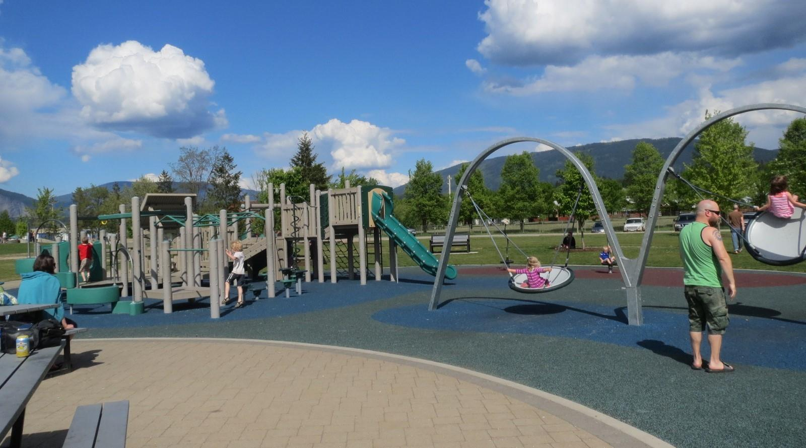 Playground at Blackburn Park