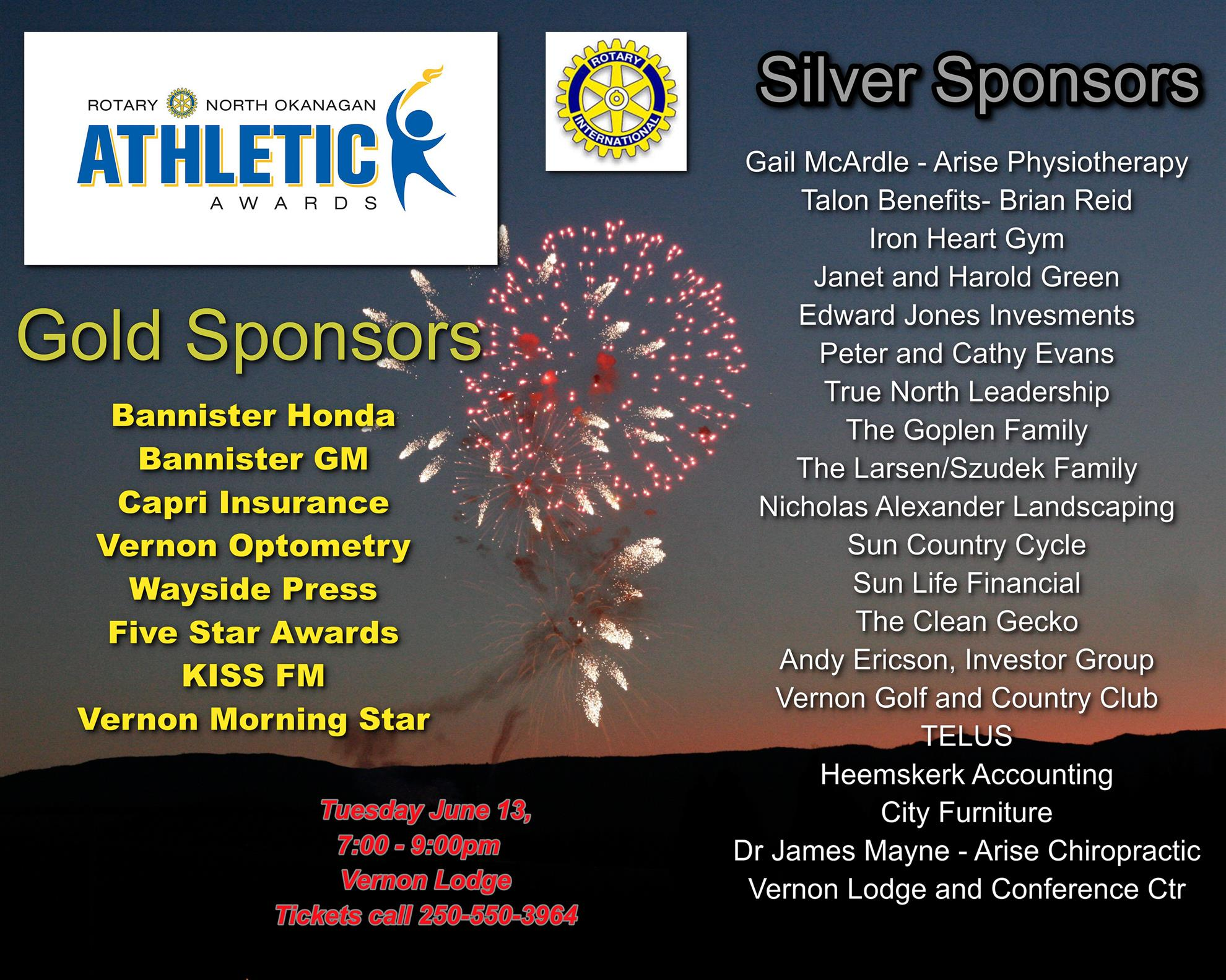 Color master inc in vernon - Vernon Silver Star Rotary Would Like To Thank All Of The Following For Contributing Towards The 2017 Rotary North Okanagan Athletic Awards