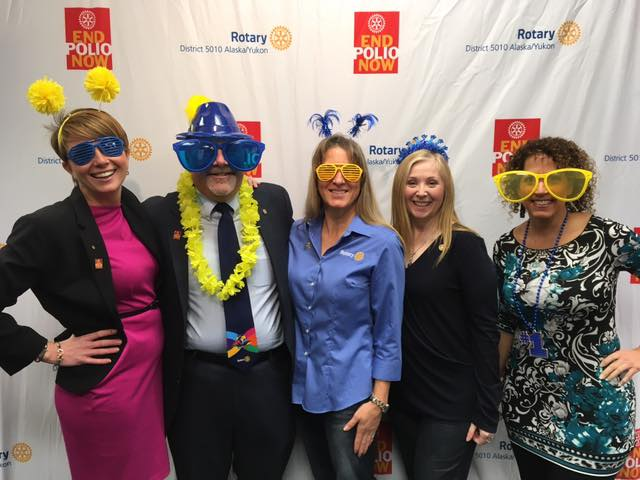 ef475707a1 Approximately 40 Rotary members and guests enjoyed great company and  delicious food Wednesday evening to honor World Polio Day! District 5010  End Polio Now ...