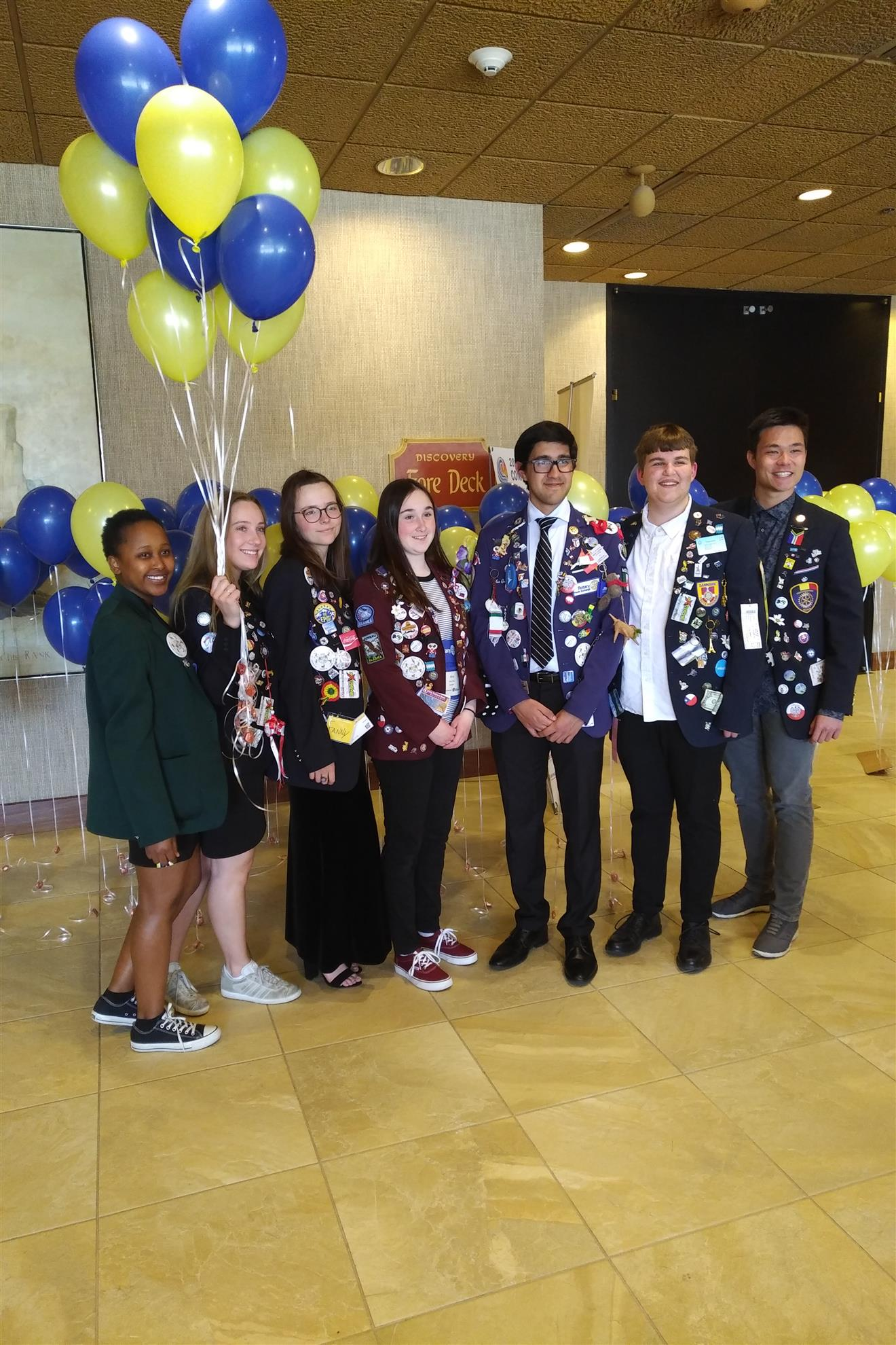 d687b6524f05b9 Always one of the best parts of the Rotary District Convention is meeting  and getting to know some of the great inbound exchange students.