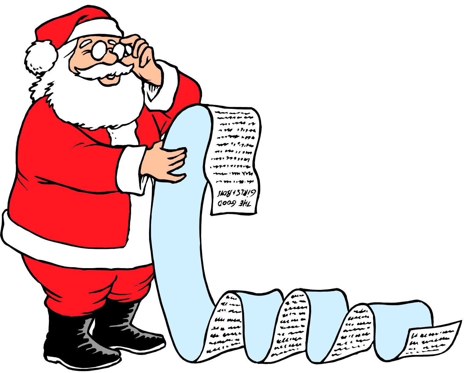 checking santa s list for the party anchorage international rotary