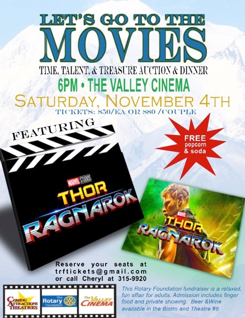 Let's Go To The Movies Foundation Fundraiser | Wasilla ...