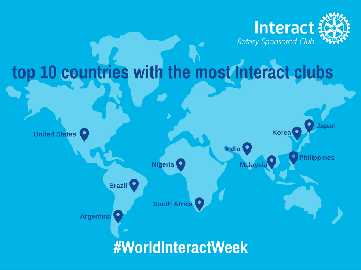 Image result for world interact week