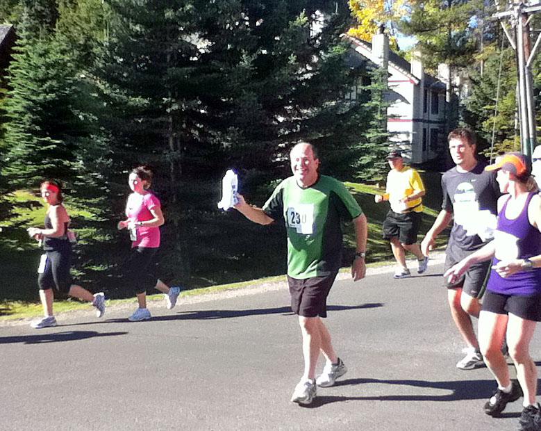 Darryl in Melissa's Run