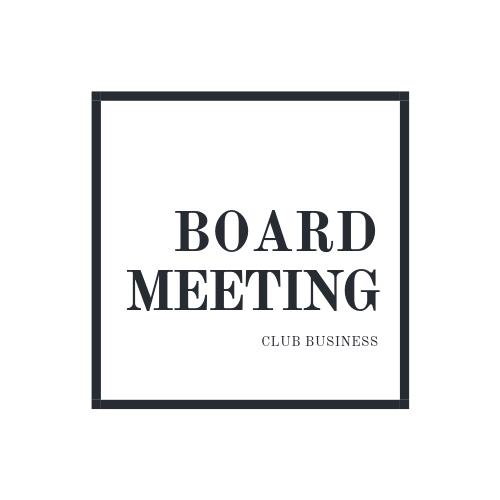 Board Meeting (Videoconference)