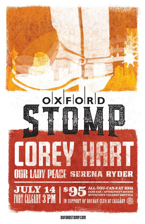 Oxford Stomp Fundraiser The Rotary Club Of Calgary