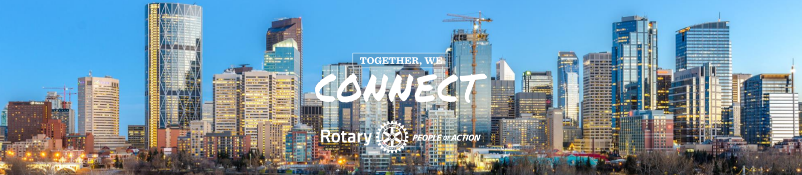 Calgary Skyline Connect Banner