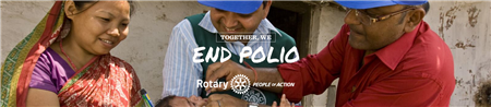 End Polio Banner