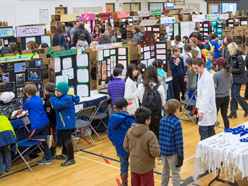 Rotary is a major sponsor of the Canadian Rockies Regional Science Fair