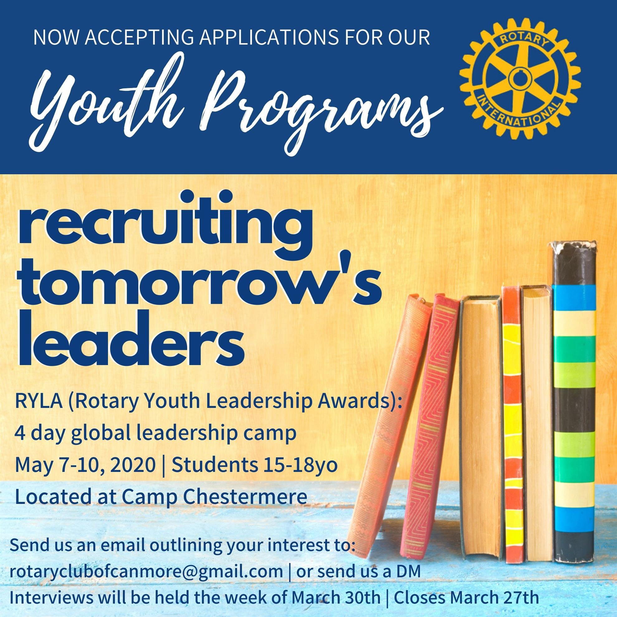 Rotary Youth Leadership program 2020