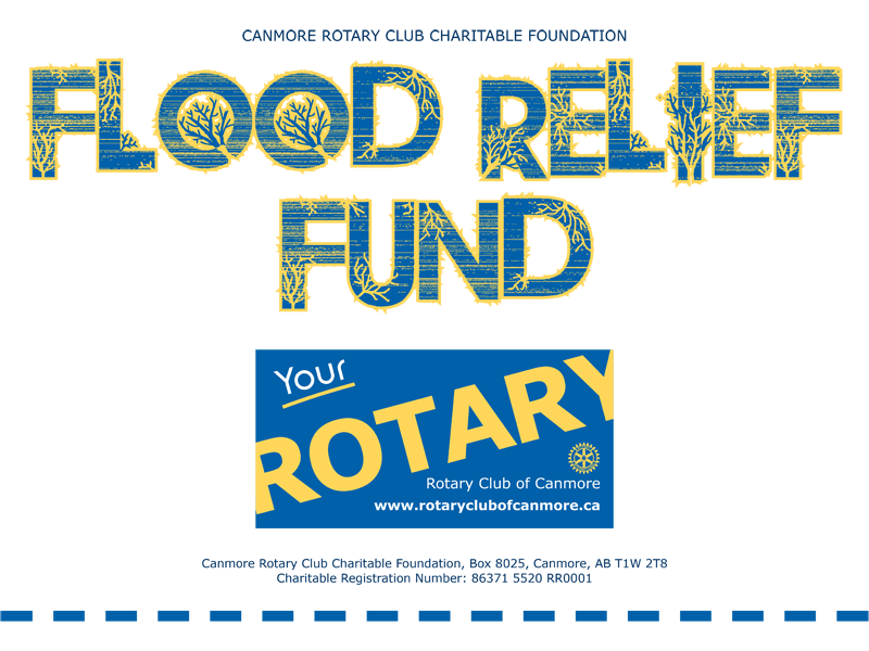 Rotary Club of Canmore supports Bow Valley flood relief, 2013