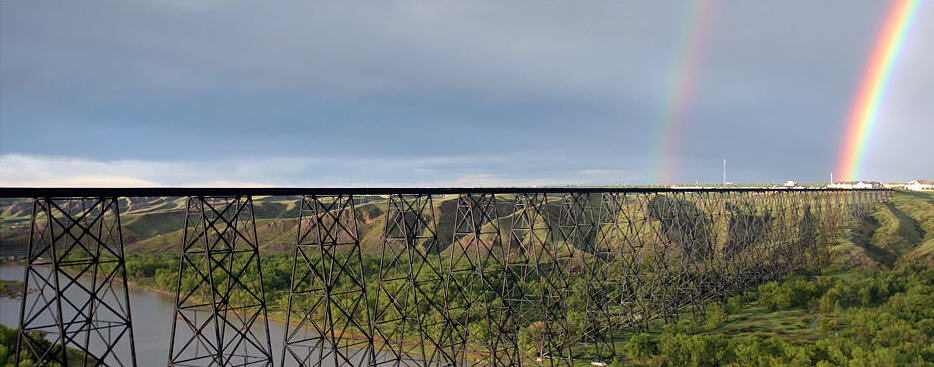 Photo of the High Level Bridge