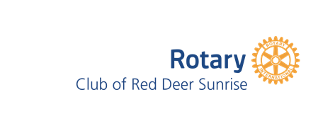 Red Deer Sunrise