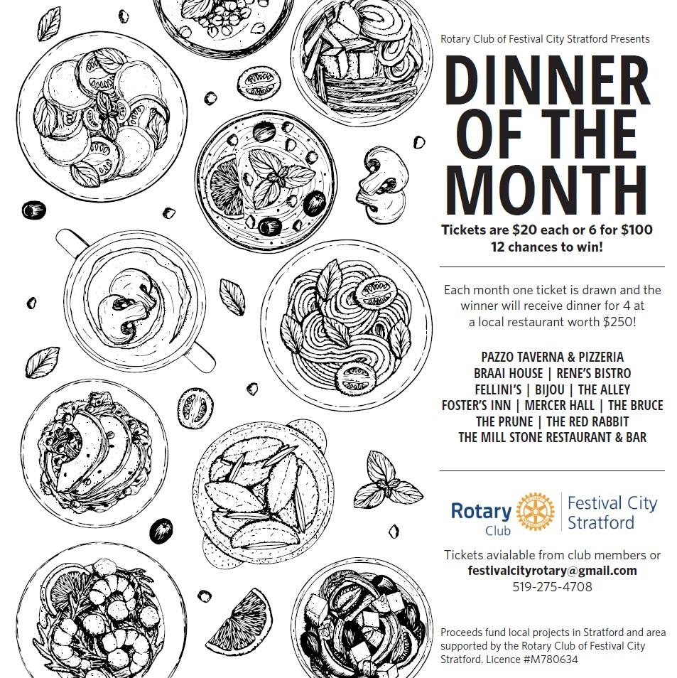2021 Dinner of the MOnth