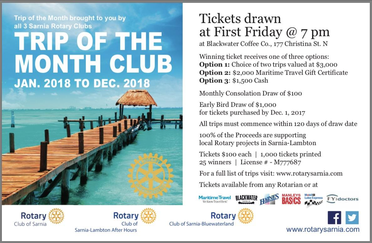 Home page rotary club of sarnia click below to purchase tickets xflitez Images