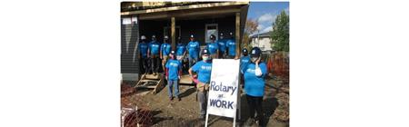 Habitat Petrolia Build Day