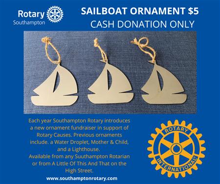 Sail Boat Decoration