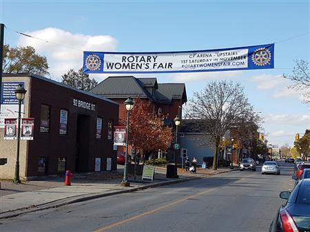 Banner for the Women's Fair