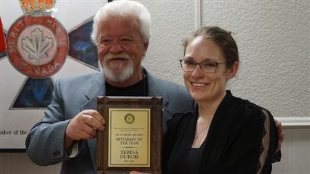 Teresa Rotarian of the Year