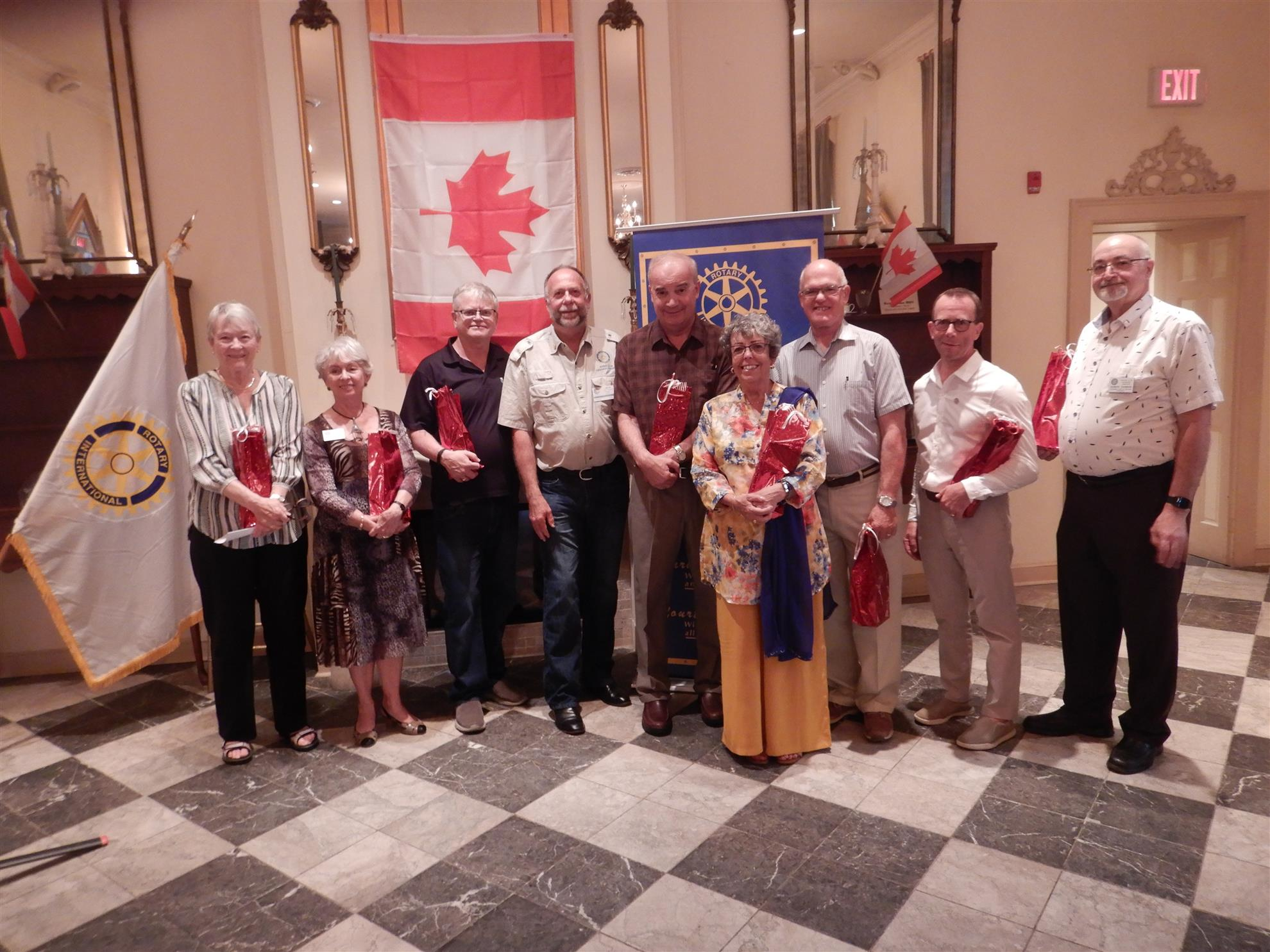 Thanks to the outgoing board