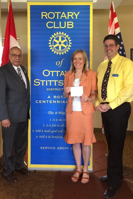 Nancy Worsfold from Crime Prevention Ottawa | Rotary Club of