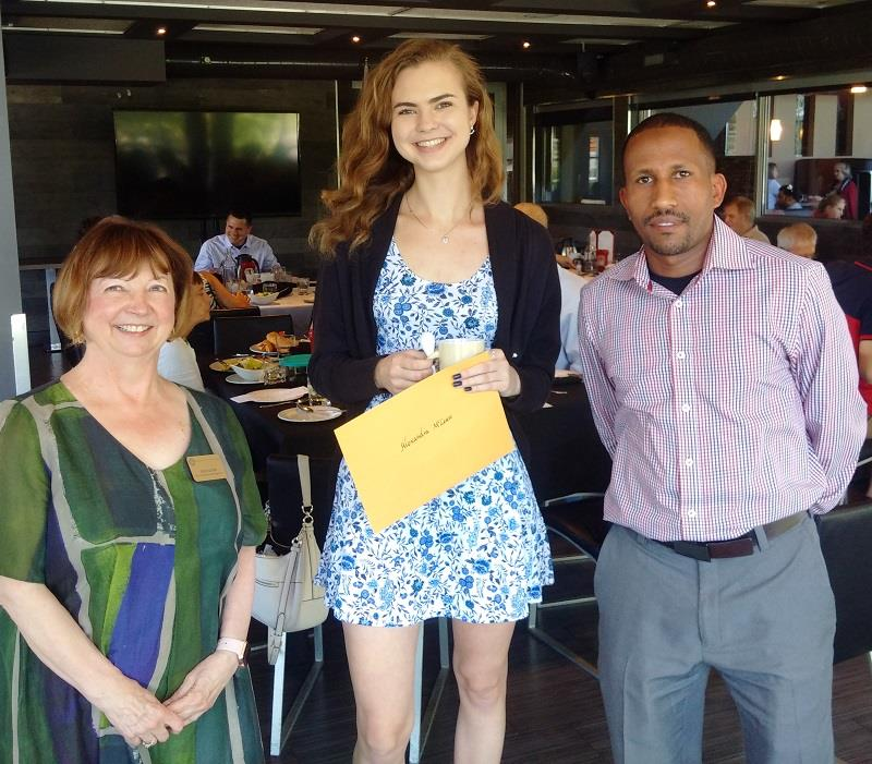 Rotary Club of Ottawa student bursary lunch 2019