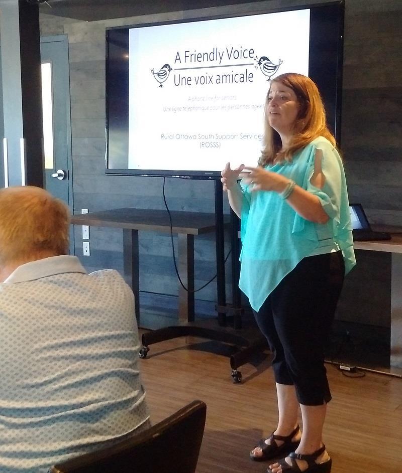 Kelly Dumas talks to teh Rotary Club of Ottawa South_1