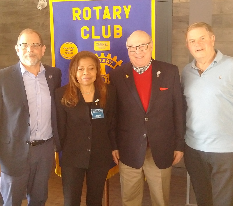 Rotary Club of Ottawa South guests on March 6, 2019.