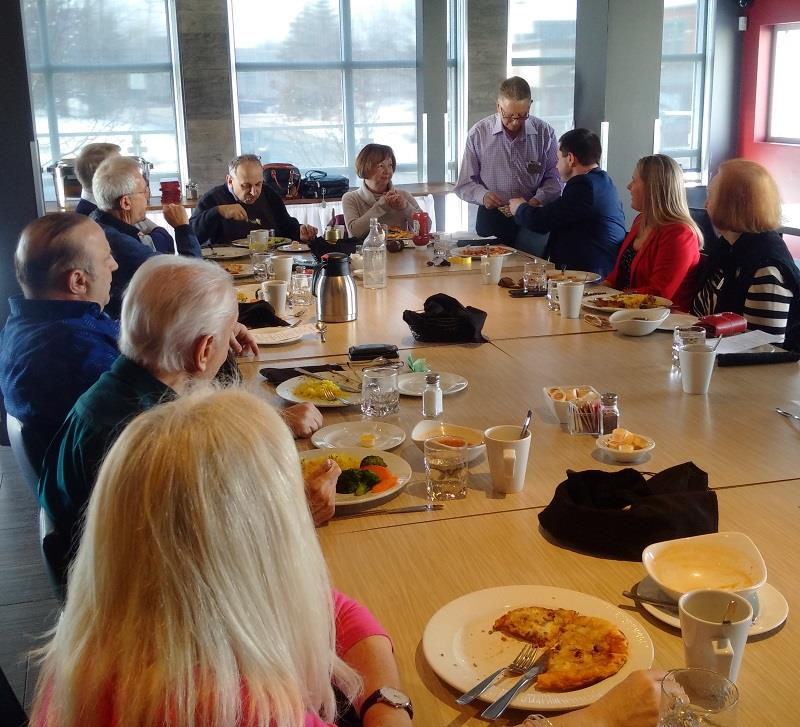 Rotary Club of Ottawa South lunch meeting in March 2019