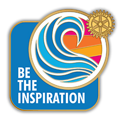 Rotary Be the Inspiration icon