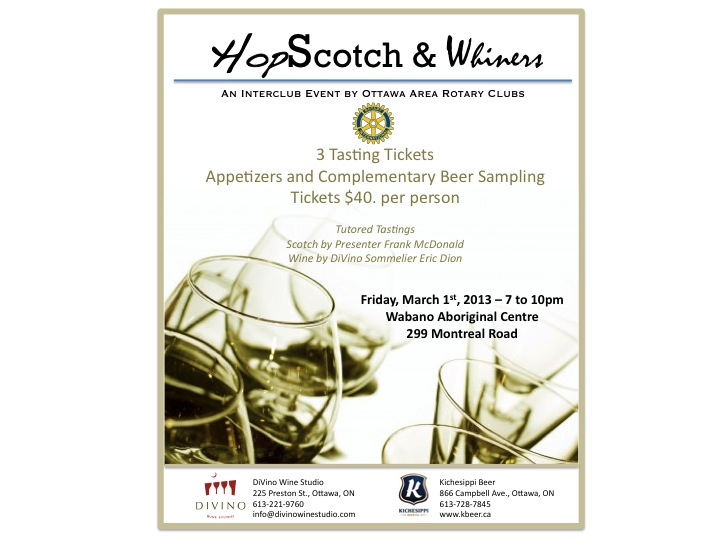 RCOS Scotch and Wine Tasting