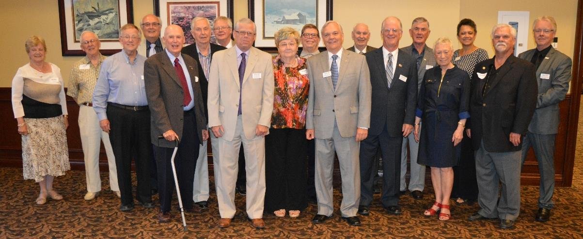 Rotary Club of Ajax's Presidents from the Past, Present and Future