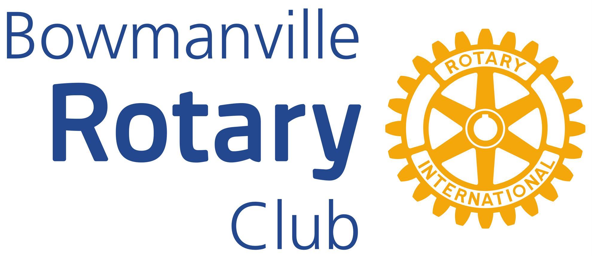 Bowmanville Rotary Logo