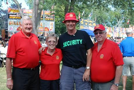 Rotarians celebrate another Northumberland Ribfest