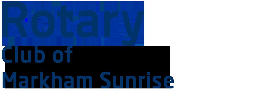 Markham Sunrise logo
