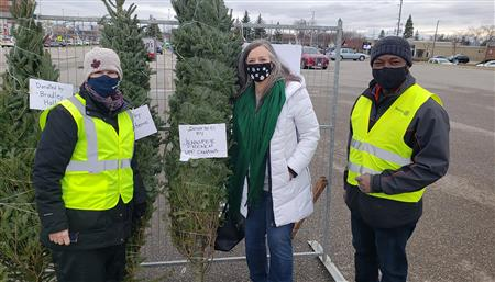Christmas Tree Sale Fundraiser