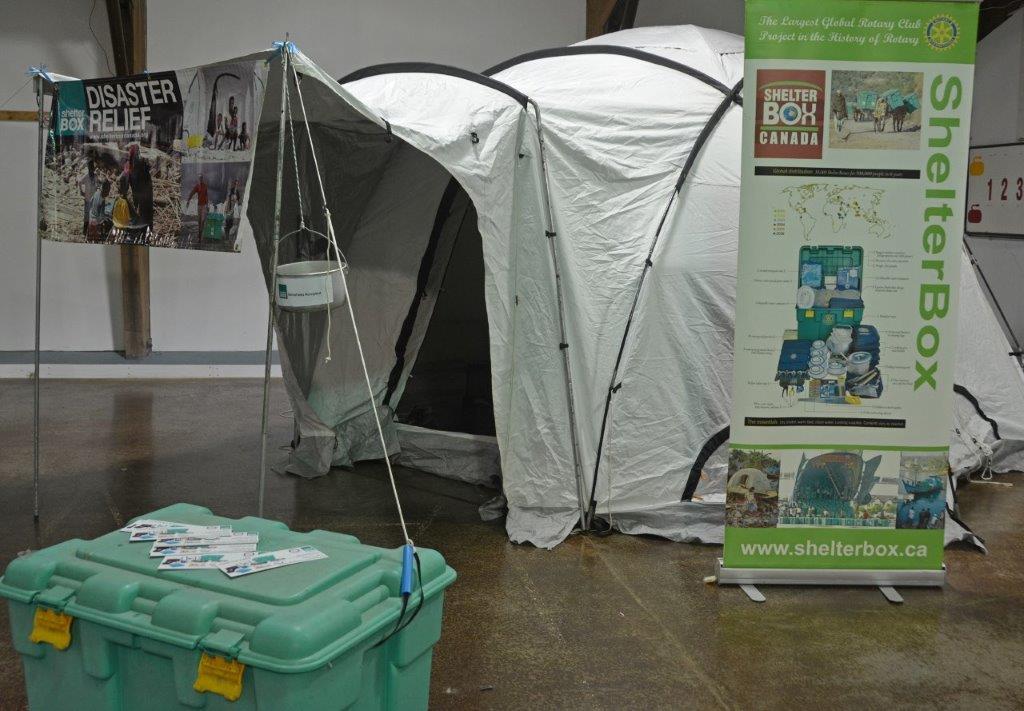 2015 Picton Fair Shelter Box Display