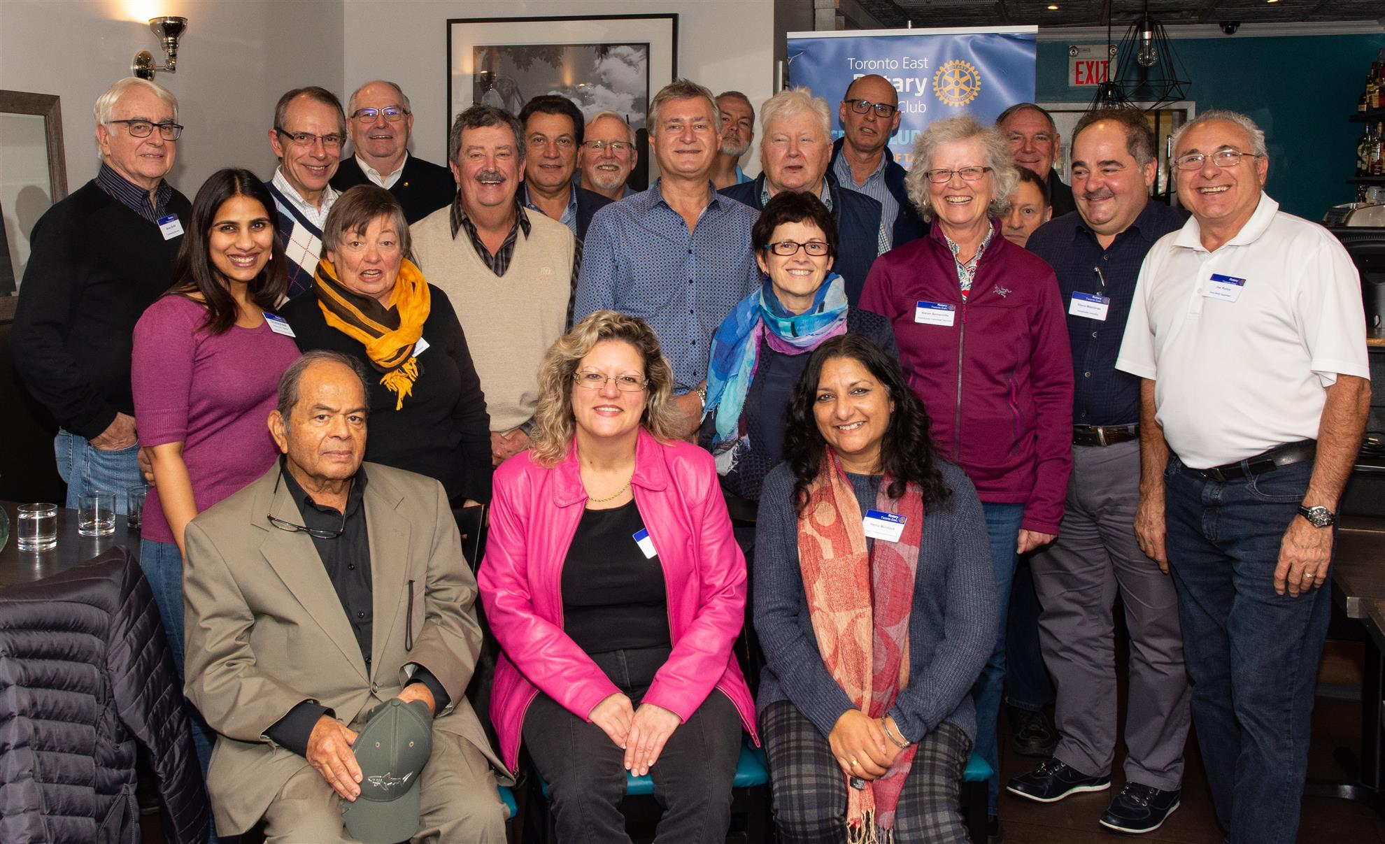 Toronto East Rotary Club Members - October 2018