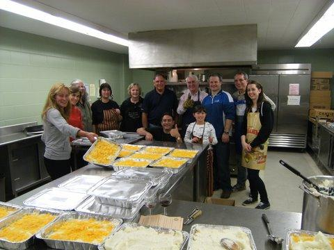 Casseroles for the Homeless