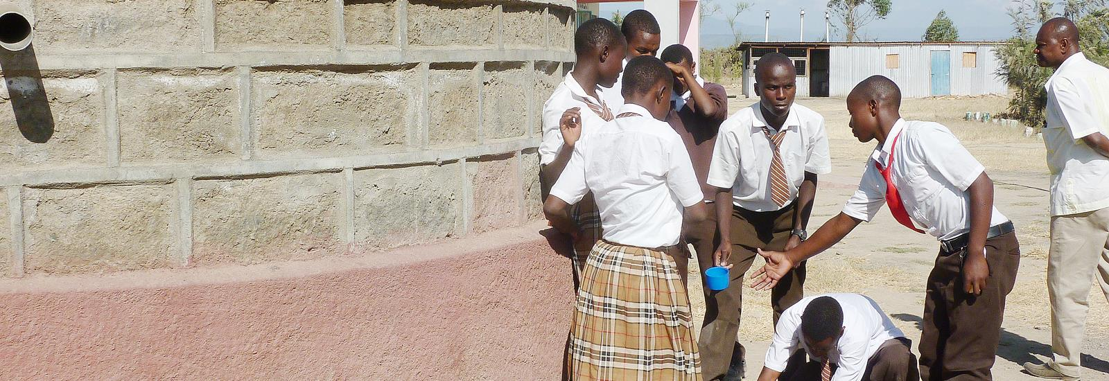 We change lives with programs like access to fresh water and education