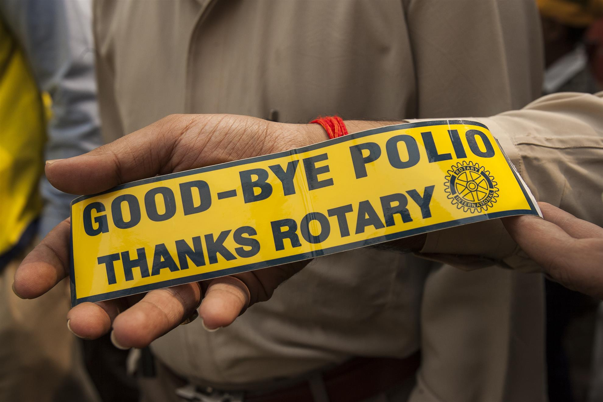 We've reduced polio cases by 99.9%, but until it's stopped, children everywhere are at risk..