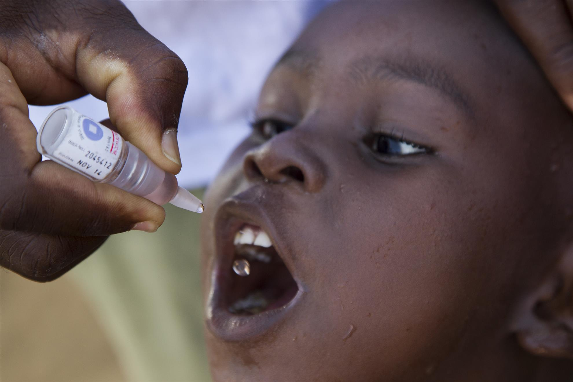 There is no cure, but polio is preventable with a vaccine.